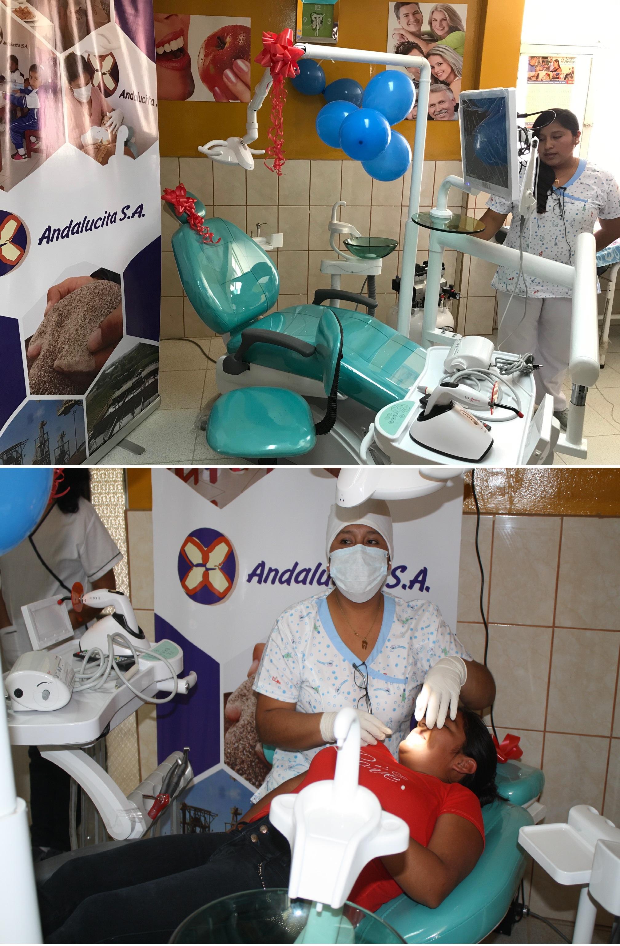 Donacion equipo odontológico 1